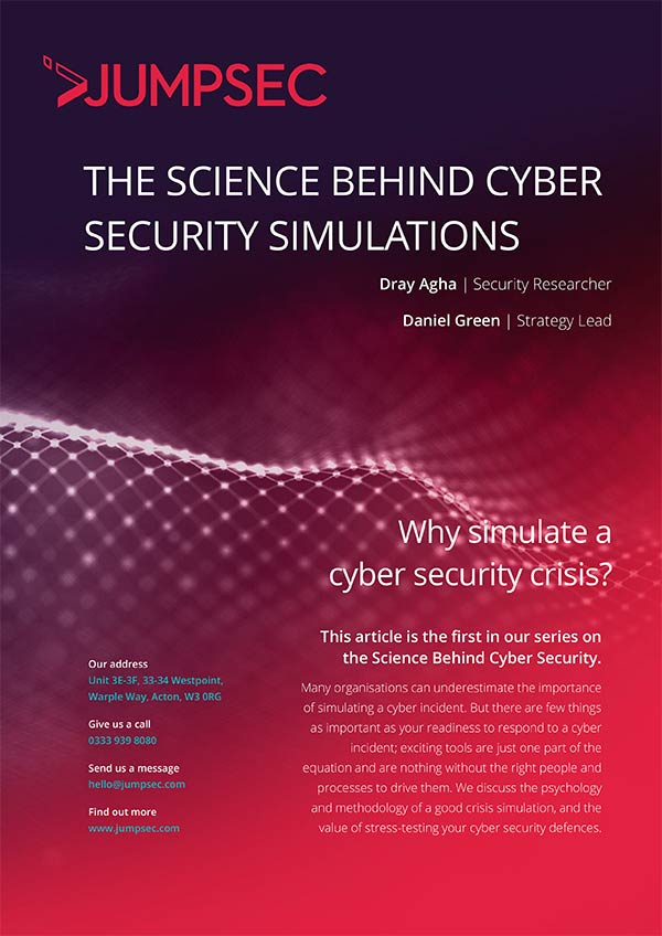 The Science Behind Cyber Security Article