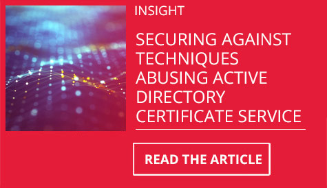 securing active directory certificate service